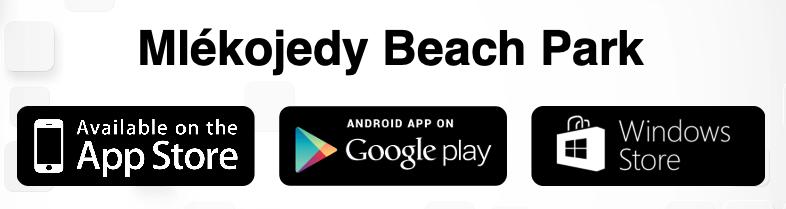 Mlékojedy Beach Park Aplikace